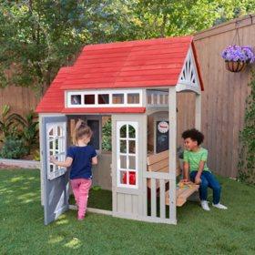 Braewood Wooden Outdoor Playhouse