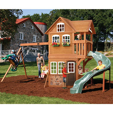 summerstone cedar summit playset sam 39 s club