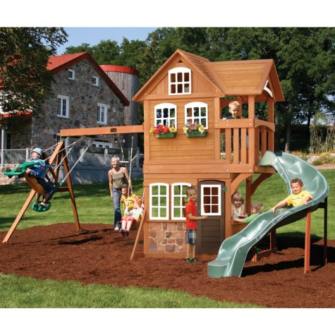 Cedar Summit Summerstone Playset