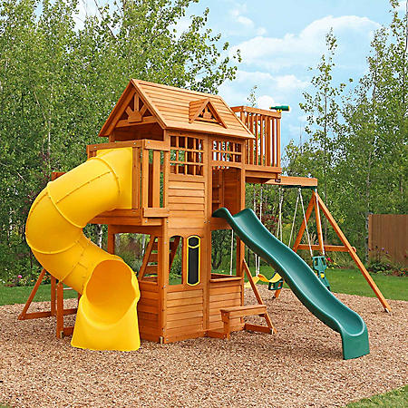 Kidkraft Skyline Wooden Playset Sams Club
