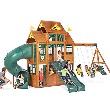 Falcon Ridge Swing Set Sams Club