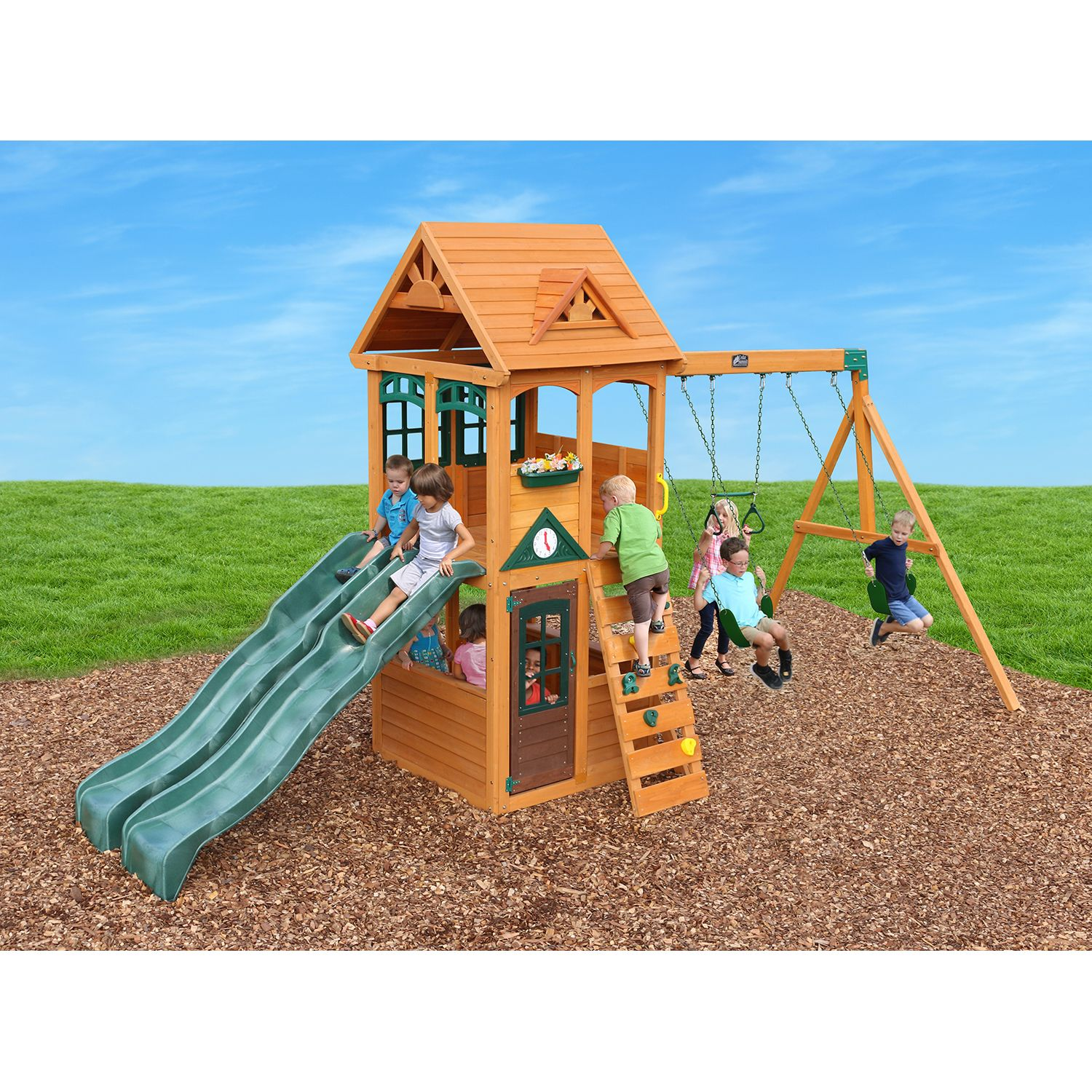 79900 Cedar Summit Westbury Wooden Play Set Dealepic