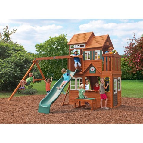 Mount Forest Lodge Playset by Cedar Summit