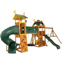 Deals on KidKraft Mockingbird View Swing Set & Activity Center