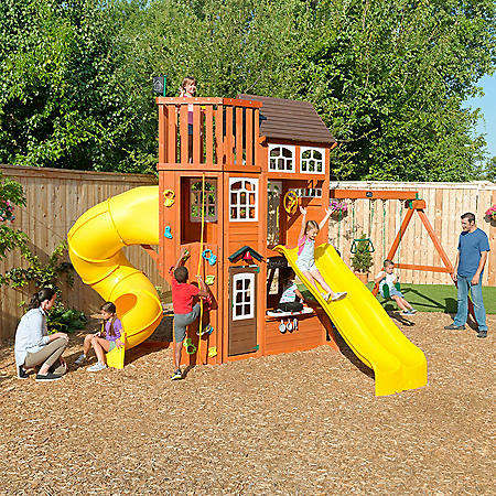 KidKraft Lookout Extreme Wooden Swing Set