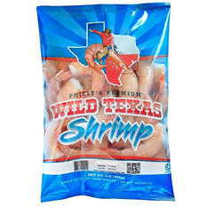 Philly's Premium Wild Texas Shrimp (2 lbs.)