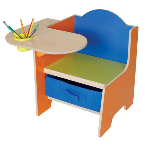 Activity Desk with Bin