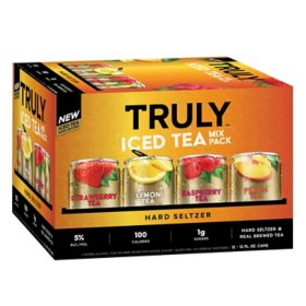 Truly Iced Tea Hard Seltzer Mix Pack (12 fl. oz. can, 12 pk.)