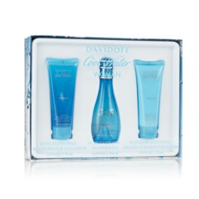 Davidoff Cool Water Womens 3-Piece Gift Set