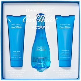 Davidoff Cool Water Women 3 Piece Set
