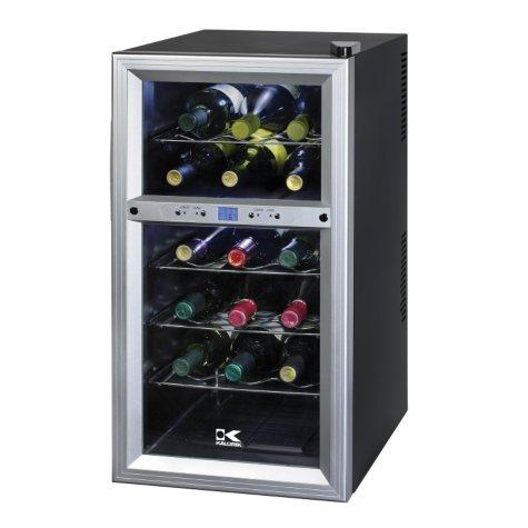 Kalorik Dual Zone 18 Bottle Wine Cooler