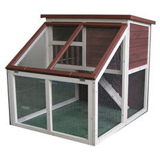 Advantek Bay Window Rabbit Hutch