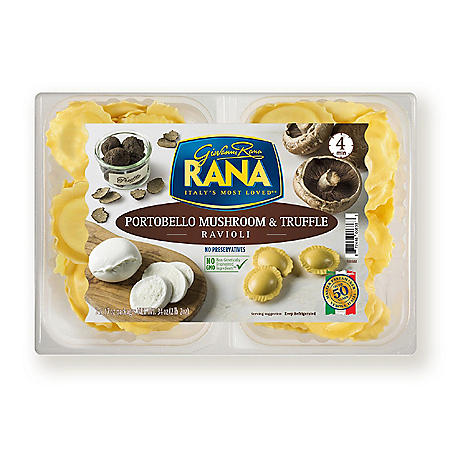 Rana Portobello Mushroom and Truffle Ravioli (34 oz.)
