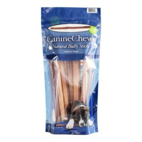 "Canine Chews Natural Bully Sticks Dog Treats, 12"" (12 ct.)"