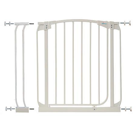 Dreambaby Chelsea Auto Close Security Gate Combo, White