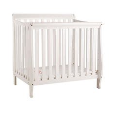 AFG Alice Mini Crib with Mattress Pad (Choose Your Color)