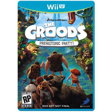Croods Prehistoric Party - Wii U