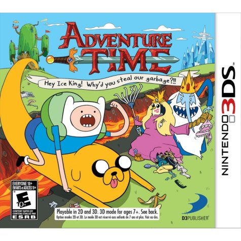 Adventure Time: Hey Ice King - 3DS