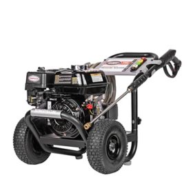 SIMPSON PowerShot 3300 PSI at 2.5 GPM HONDA GX200 with AAA Triplex Pump Professional Gas Pressure Washer