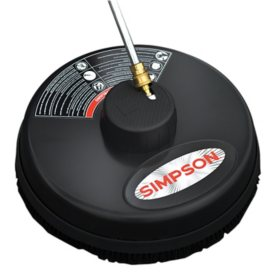 "SIMPSON Universal 15"" Surface Scrubber for CW Pressure Washers, Rated Up to 3600 PSI"