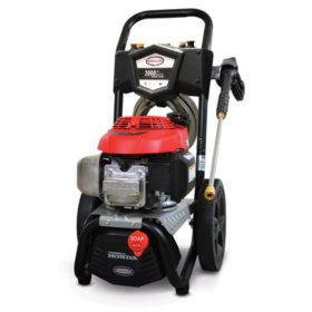 Simpson 3000 PSI at 2.4 GPM Gas Pressure Washer Powered by Honda