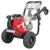 SIMPSON MegaShot 3300 PSI at 2.4 GPM HONDA GC190 with OEM Technologies Axial Cam Pump Cold Water Premium Residential Gas Pressure Washer (49-State)
