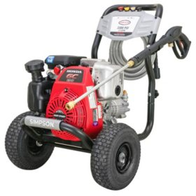 SIMPSON MegaShot 3300 PSI at 2.4 GPM HONDA GC190 with OEM Technologies Axial Cam Pump Cold Water Premium Residential Gas Pressure Washer