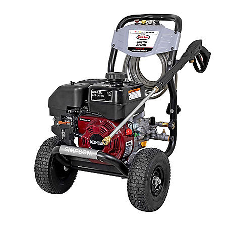 MegaShot 3400 PSI at 2.4 GPM KOHLER SH270 Cold Water Pressure Washer
