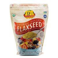 Premium Gold Organic Flaxseed (4 lbs.)