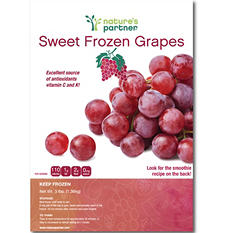 Nature's Partner Sweet Frozen Grapes (3 lb.)