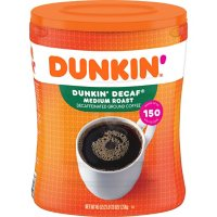 Dunkin' Donuts Decaffeinated Ground Coffee, Medium Roast (45 oz.)
