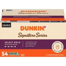 Dunkin' Signature Series Select Bold Coffee, Dark Roast (54 ct.)