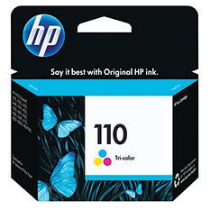 HP HP 110 (CB304AN) Original Ink Cartridge, Tri-Color