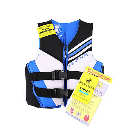 Body Glove Boys' U.S. Coast Guard-Approved PFD (One Size, 50-90 lbs.)