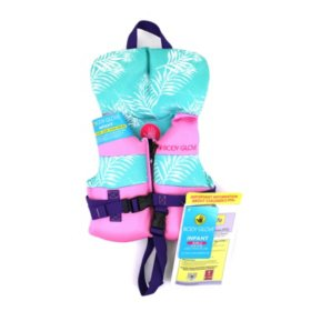 Body Glove Infant Girls' U.S. Coast Guard-Approved PFD (One Size, less than 30 lbs.)
