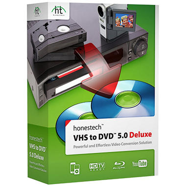 VHS to DVD 5.0 Deluxe - PC