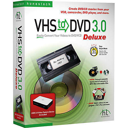 VHS to DVD 3 0 Deluxe - Sam's Club