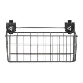 Gladiator 18-inch Ventilated Wire Basket Garage Storage for GearTrack or GearWall