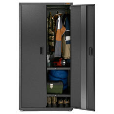 Gladiator 36-inch Ready to Assemble Steel All Seasons Freestanding Garage Cabinet in Hammered Granite