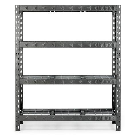 Gladiator 60-inch 4-Shelf Welded Steel Garage Shelving Unit