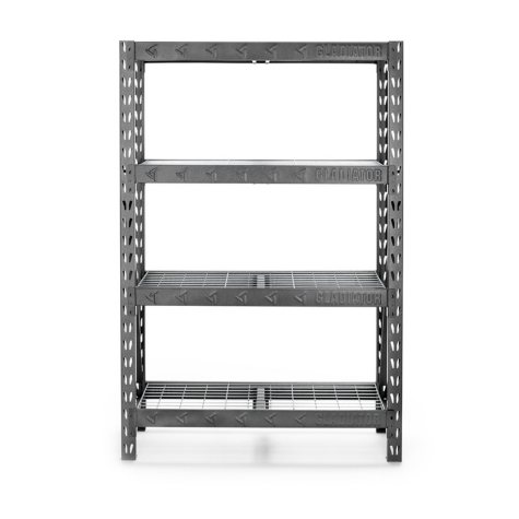 Gladiator 72-inch 4-Shelf Welded Steel Garage Shelving Unit
