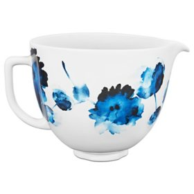 KitchenAid 5-Quart Ink Watercolor Ceramic Bowl