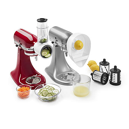 Cool Kitchenaid Slicer Shredder And Citrus Juicer Attachments Home Interior And Landscaping Analalmasignezvosmurscom