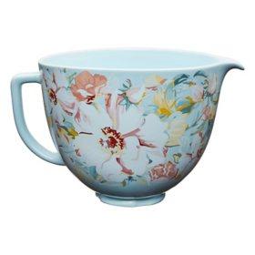 KitchenAid 5-Quart White Gardenia Ceramic Bowl