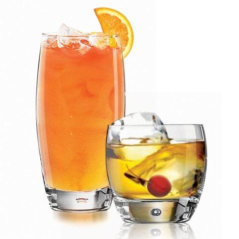 Luminarc Oxygen Mixed Beverage Set (16 pc. set)