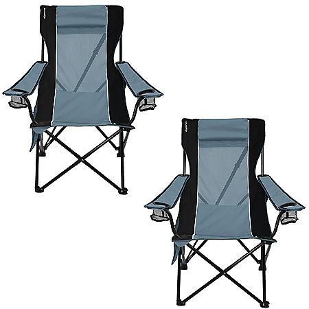 Kijaro Portable Camping Sling Chair - 2 Pack