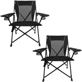 Kijaro Dual Lock Portable Camping Chair - 2 Pack