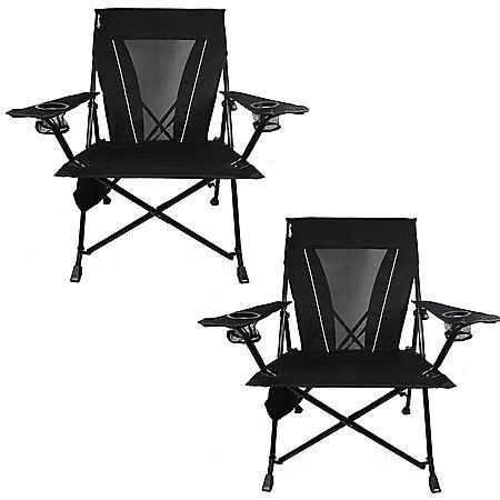Kijaro Dual Lock XXL  Portable Camping Chair - 2 Pack