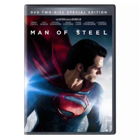 Man Of Steel (DVD + UltraViolet) (Widescreen)