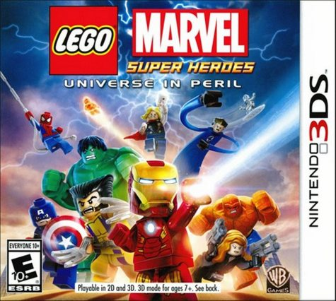 Lego: Marvel Super Heroes - Universe in Peril - 3DS